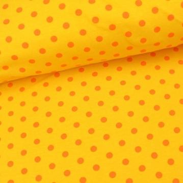 Punkte gelb orange