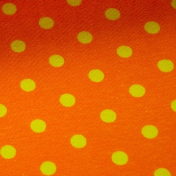 Punkte orange gelb