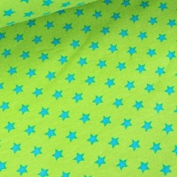Sterne grün blau