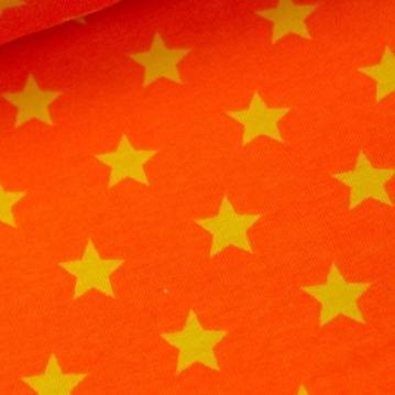Sterne orange gelb