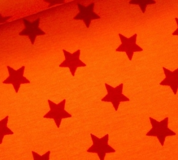 Sterne orange rot