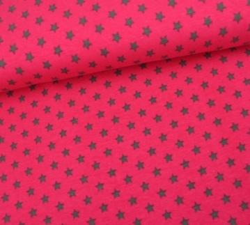 Sterne pink grau